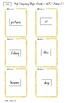Frequently used word lists - Flashcards - Short time - Amber2