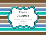 Frere Jacques - a French folk song with an Orff arrangement