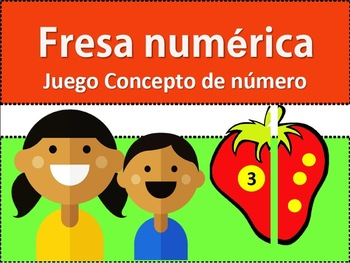 Fresa Númerica: Juego del concepto de número