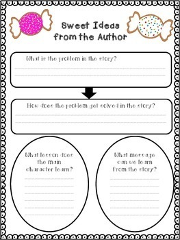 Fresh Baked Comprehension Graphic Organizers