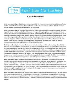 Fresh Eyes on Teaching