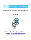 Fresh Eyes on Teaching User Guide