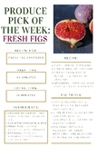 Fresh Figs - Nutrition
