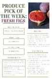 Fresh Figs - Nutrition
