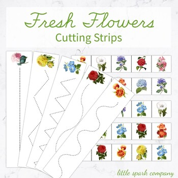 Fresh Flowers Cutting Strips