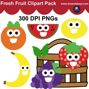 Fresh Fruit Clipart