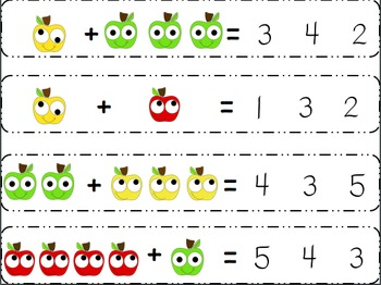 Fresh Picked Apples: Math Centers