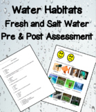 Fresh & Salt Water Habitats Differentiated Assessment