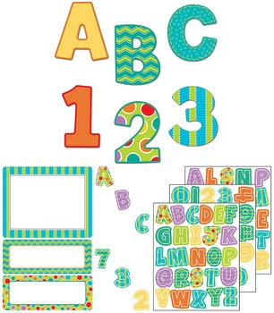 Fresh Sorbet Large and Small Letters Set SALE 20% OFF 144939