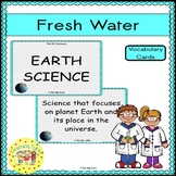 Fresh Water Vocabulary Cards