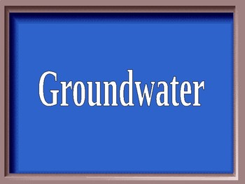 Fresh Water Jeopardy Review Game