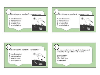 Fresh Water Task Cards