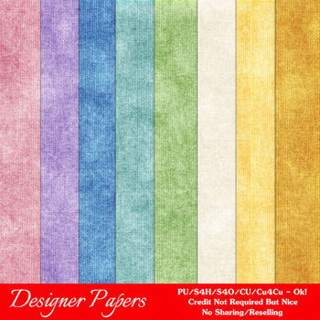 Fresh Winter A4 Size Digital Paper Backgrounds