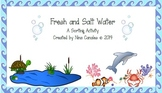 Fresh and Salt Water Sort