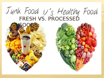 Fresh vs. Processed Foods