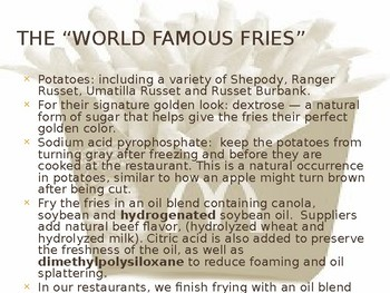 Fresh vs. Processed Foods