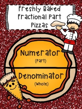 Freshly Baked Fractional Part Pizzas