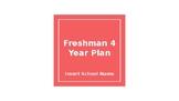 Freshman 4 year plan power point