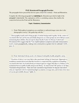 Freshman Composition Exercises