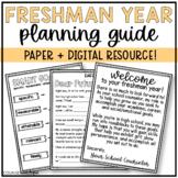 Freshman Folder for School Counselors