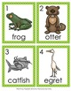Freshwater Marsh Animals Write the Room Activity