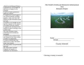 Freshwater Research Journal