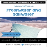 Freshwater & Saltwater Reading Comprehension Passage & Que