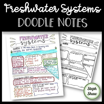 Freshwater Systems - DOODLE NOTES