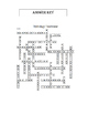 Freshwater & Water Cycle Crossword Puzzle