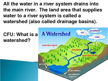 Freshwater: Watersheds, Wetlands, Surface Water and Groundwater PowerPoint