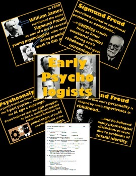 Psychology - PowerPoint w/ Quiz - Sigmund Freud Lecture Package