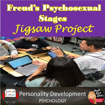 Freud's Psychosexual Stages JIGSAW Project |Personality | Psychology | Digital