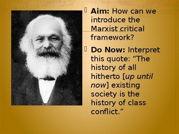 Marxist Literary Criticism - Four Lessons