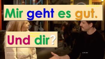 Freut mich - German Greetings