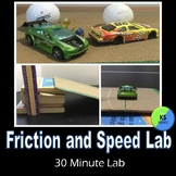 Friction And Speed Lab | Experiment With Ramps And Cars