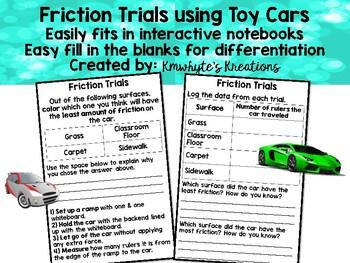 Friction Car Trials