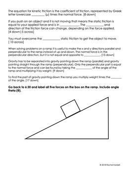 Friction (Crash Course Physics Notes)