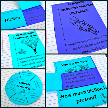 Friction Interactive Notebook