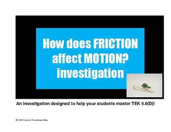 Friction Investigation