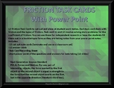 Friction Task Cards with Power Point