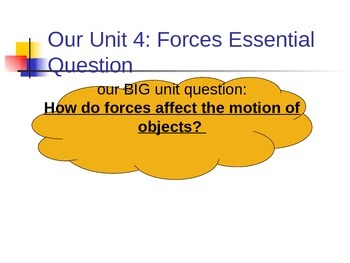 Friction and Forces Powerpoint