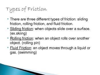 Friction and Gravity
