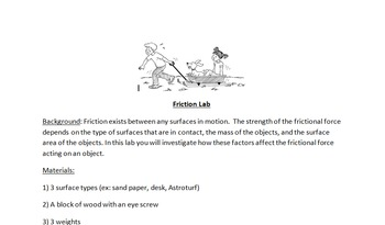 Friction and Gravity Unit
