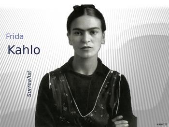 Frida Kahlo Art History Unit Study