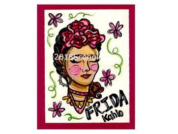 Frida Kahlo Artist Poster