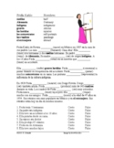 Frida Kahlo Spanish Biography Worksheet (Preterite vs. Imperfect) SUB PLAN!