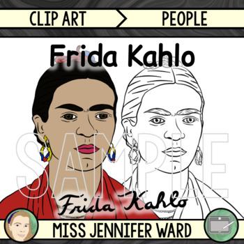 Frida Kahlo Clip Art