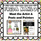 Frida Kahlo - CC Close Reading, Poetry & Art Biography Lit Unit Bundled Set