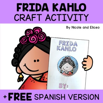 Frida Kahlo Hispanic Heritage Craft Activity