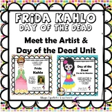 Frida Kahlo - Day of the Dead - Dia de los Muertos - Printables - Literacy Unit